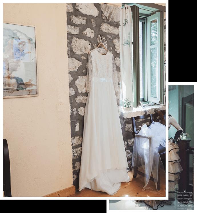 Esküvői ruha készítés